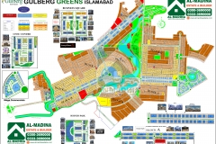 Gulberg Greens Islamabad Map (Updated)