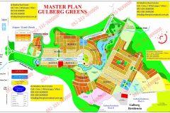 Gulberg Greens Islamabad Map (Old)