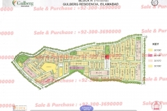 Gulberg Residencia Block R map