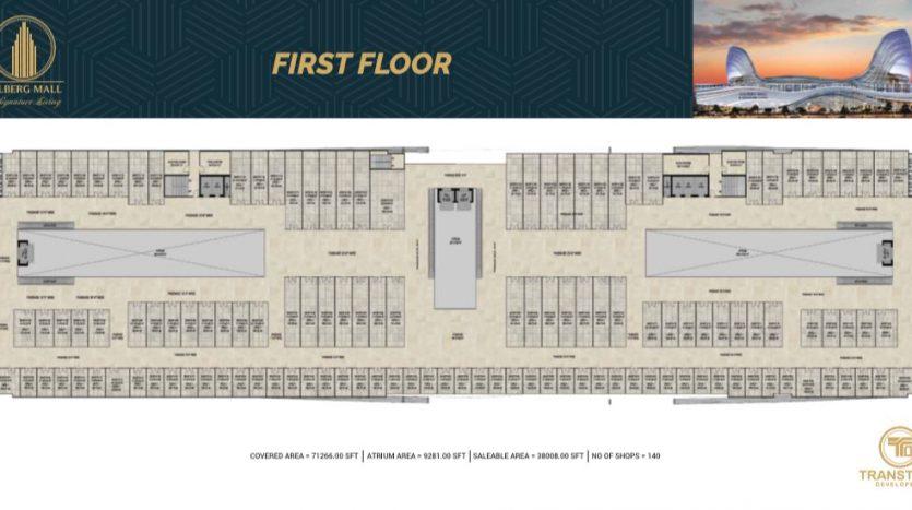 Gulberg Mall First Floor Floor Plan
