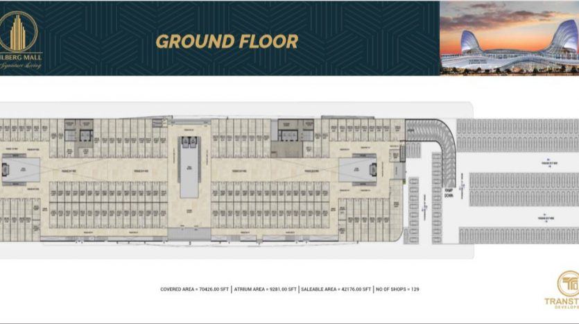 gulberg mall ground floor