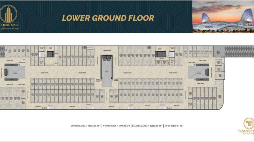Gulberg Mall Lower Ground Floor