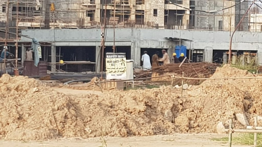 Construction Site of Gulberg Dream Heights