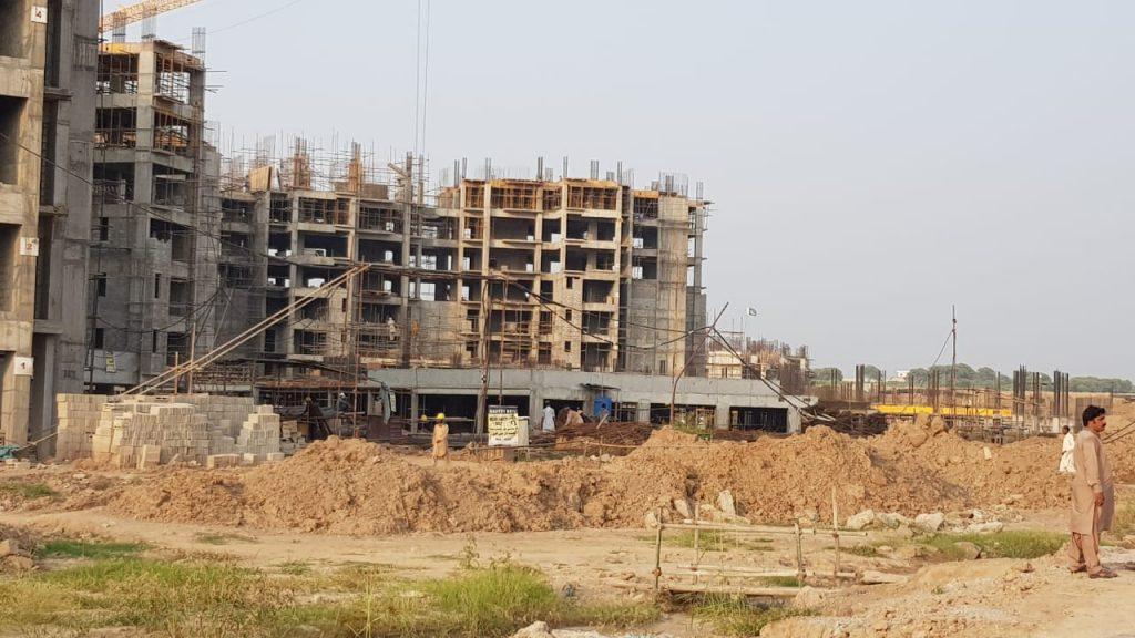 Gulberg Dream Heights Construction Updates 02