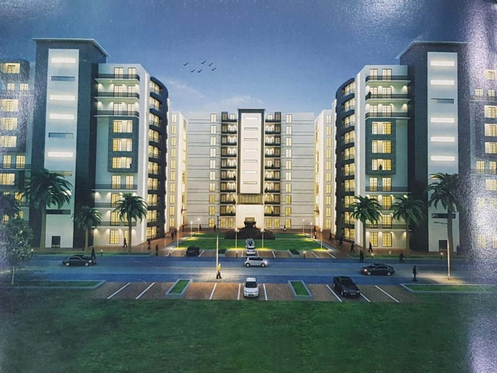 Front Elevation Gulberg Dream Heights