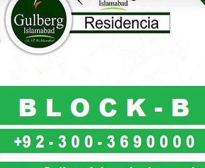 Gulberg Residencia Islamabad Block B