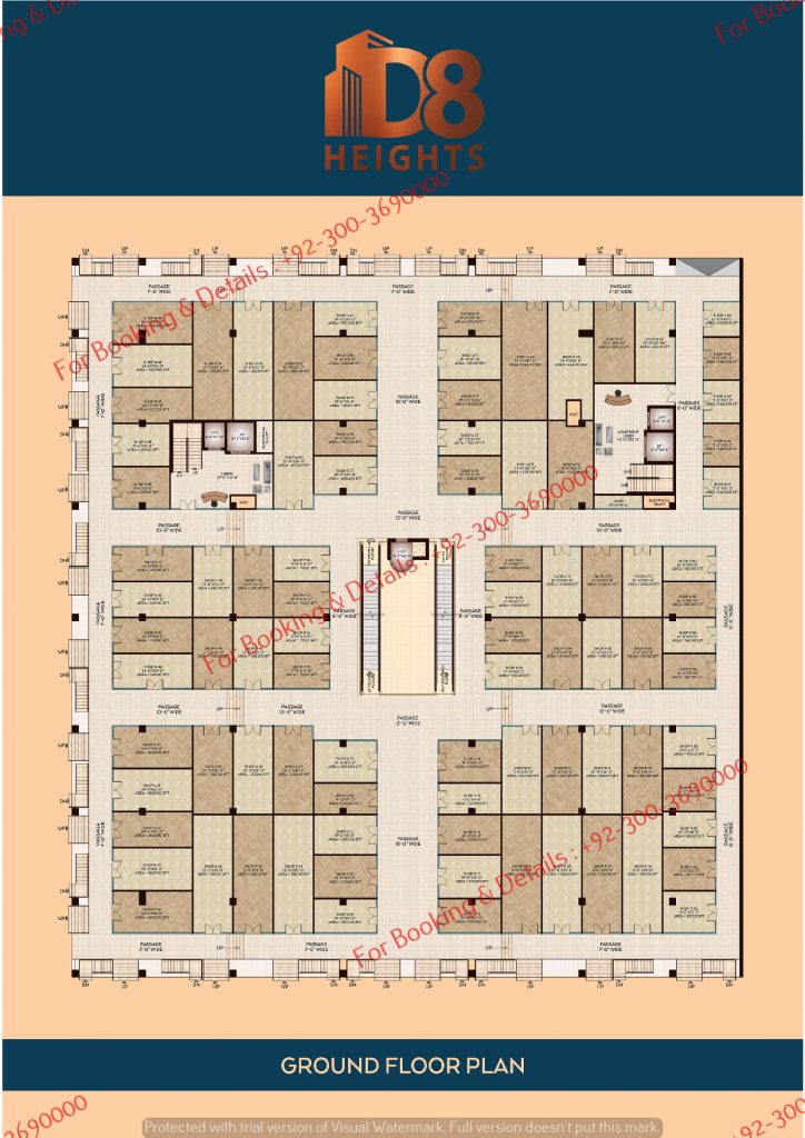 D 8 Heights Ground Floor Floor Plan